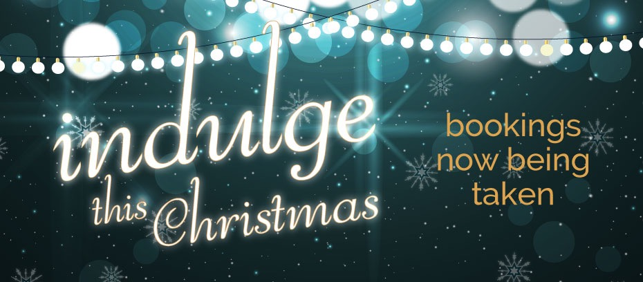Indulge this Christmas - book your table now