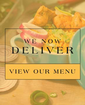 We now deliver! Click to view our menu